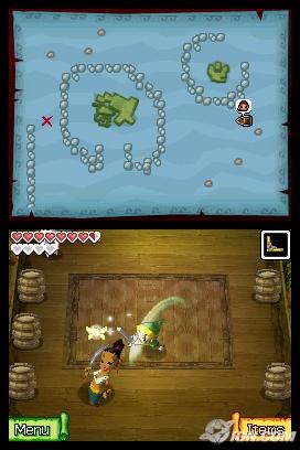Zelda phantom hourglass maze island prizes for teens