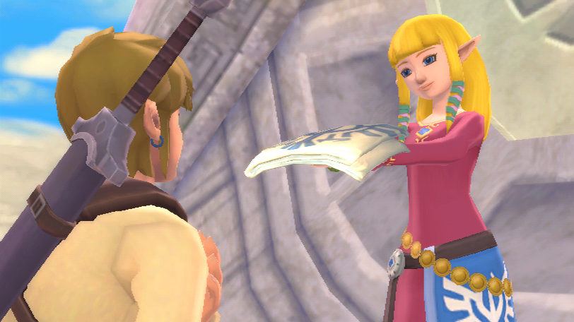 Game review the legend of zelda skyward sword wii - Link dans zelda ...