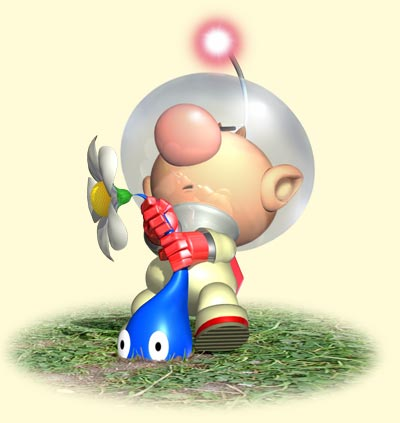 Game Review Pikmin Gamecube Rose Red Prince