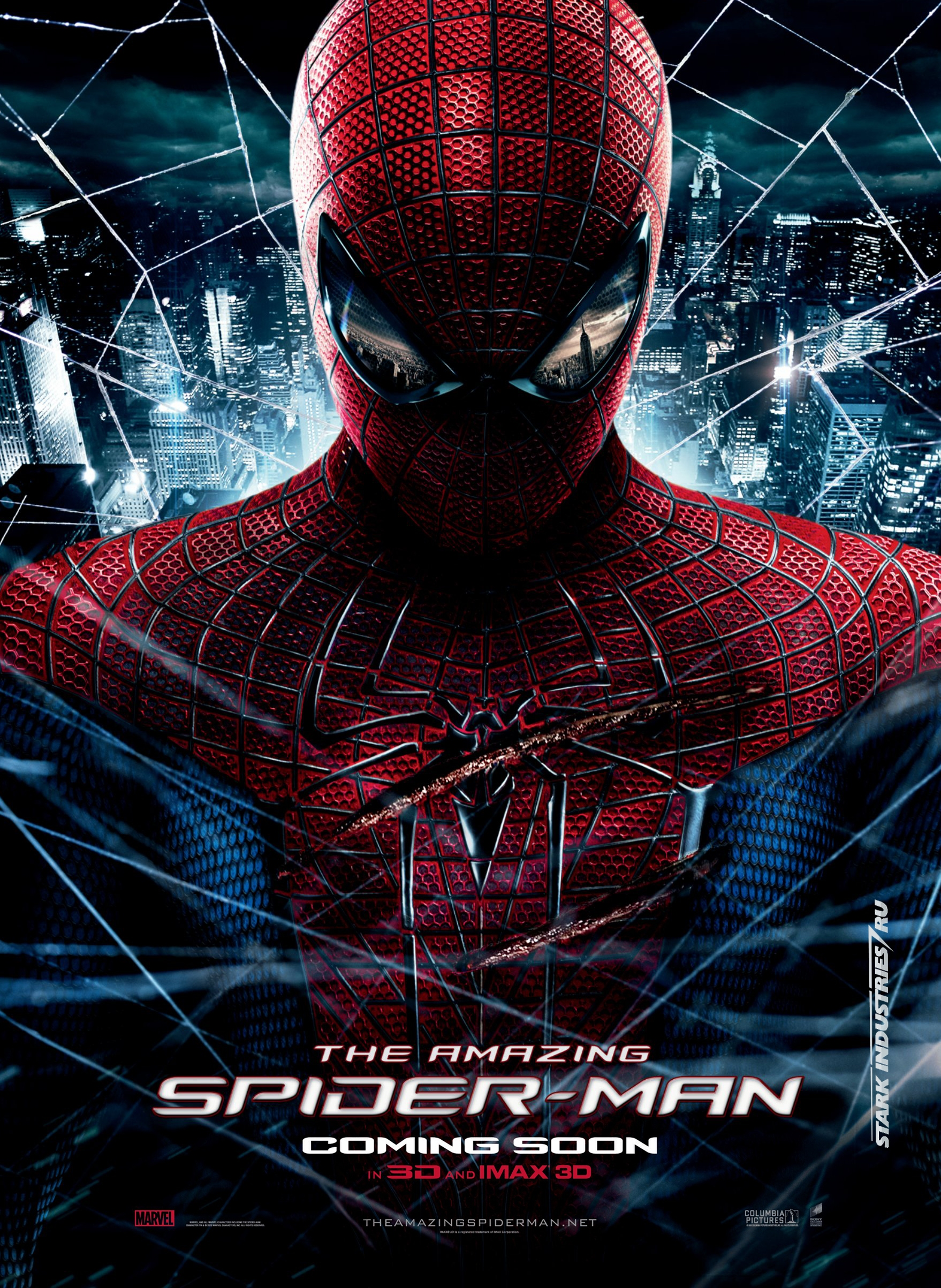 film review the amazing spider man 12a rose red prince. Black Bedroom Furniture Sets. Home Design Ideas