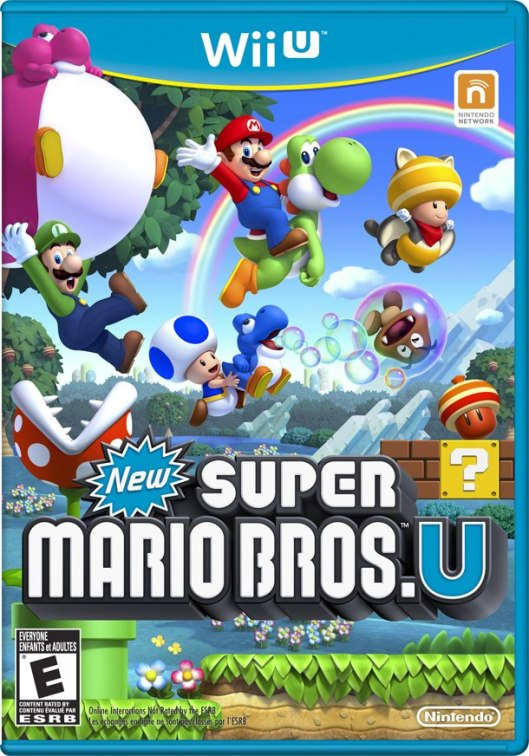 New Super Mario Bros. U Box