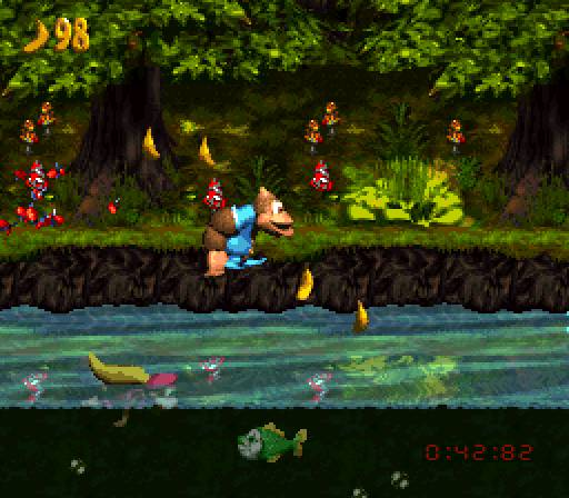 Donkey Kong Country 3 Dixie Kong's Double Trouble Image 1
