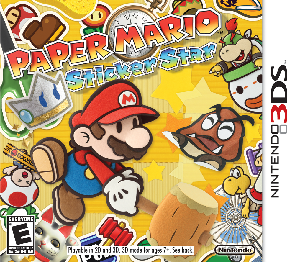 Game Review – Paper Mario: Sticker Star (3DS) | Rose Red ...