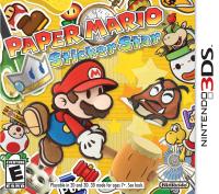 Paper Mario Sticker Star Box