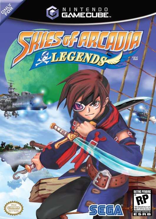 Skies of Arcadia Legends Box